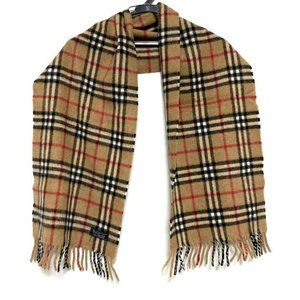 AUTHENTIC Burberry's CLASIC  Cashmere Scarf